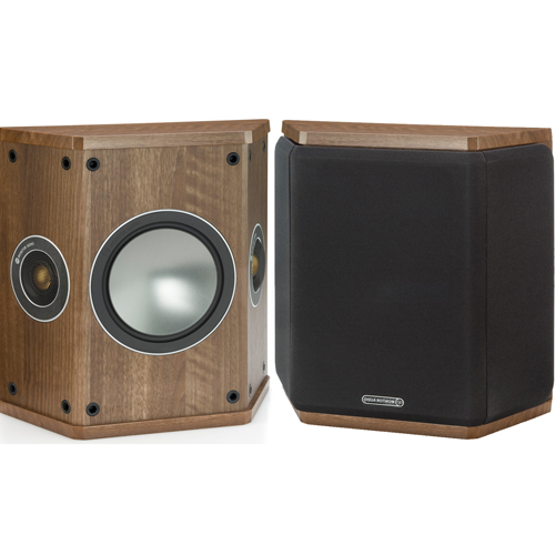Monitor Audio Bronze FX Surround Speaker - Walnut (Pair)