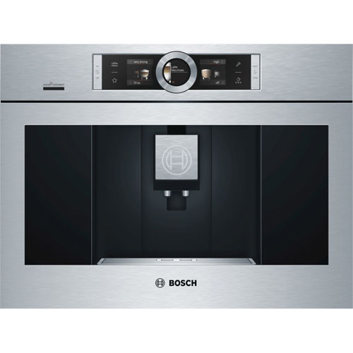 """Bosch 800 Series 24"""" Built-In Coffee System - Stainless Steel"""