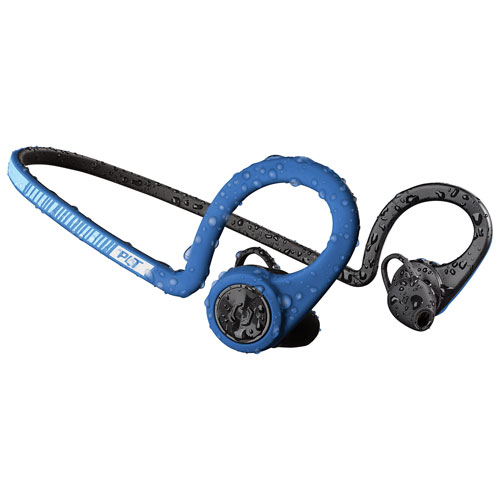 Final Clearance Plantronics BackBeat FIT In-Ear Bluetooth Headphones - Blue 588d73abda