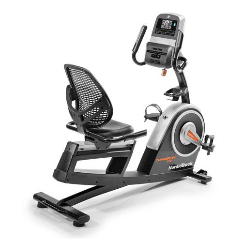 Vélo à position allongée Commercial VR21 de NordicTrack