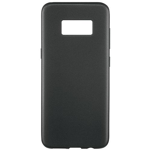 Étui rigide ajusté d'Insignia pour Galaxy S8 Plus - Noir