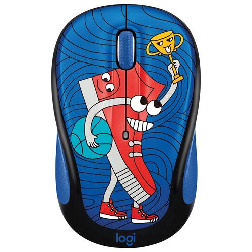 Logitech Doodle M325 1000 DPI Wireless Optical Mouse - Sneaker Head