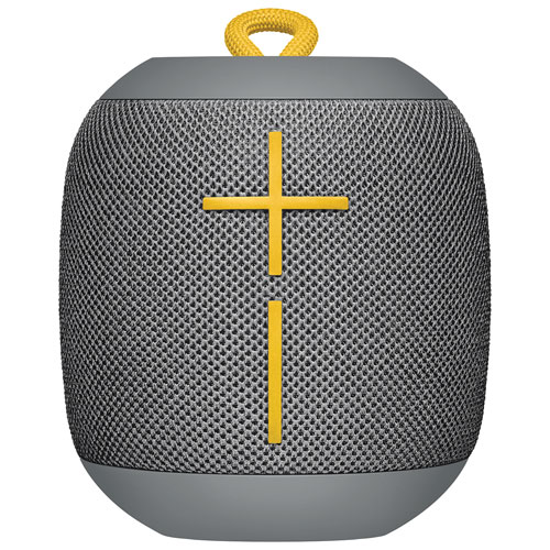 Haut-parleur sans fil Bluetooth étanche WonderBoom d'Ultimate Ears - Gris