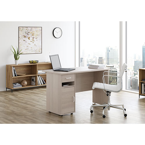 Sullivan Contemporary Writing Desk - Grey Wash - Only at Best Buy