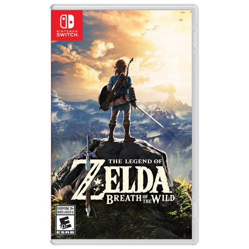 The Legend of Zelda: Breath of the Wild (Switch) - Usagé
