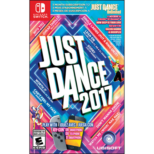 Just Dance 2017 (Switch) - Previously Played