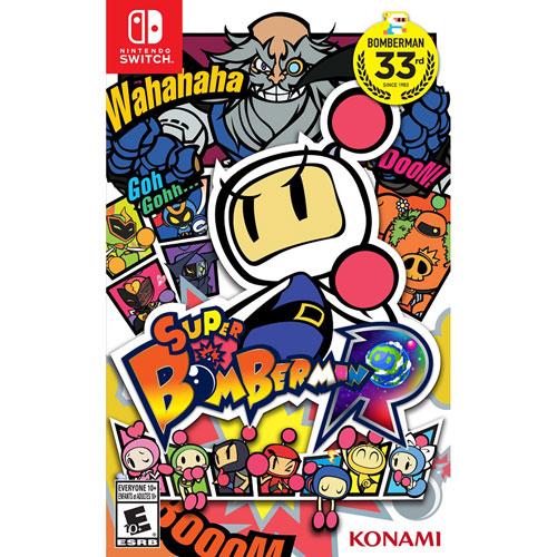 Super Bomberman R (Switch) - Jeu usagé