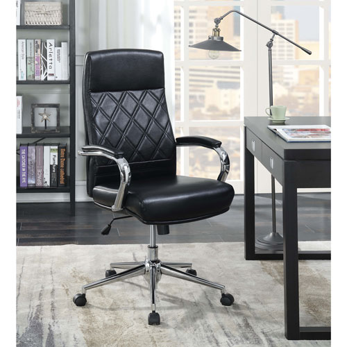 office chair with speakers. picket house atkins bonded leather executive office chair black with speakers f