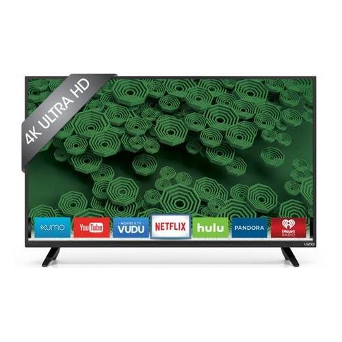 VIZIO D58U-D3 58 INCH 4K SMART LED TV - Refurbished