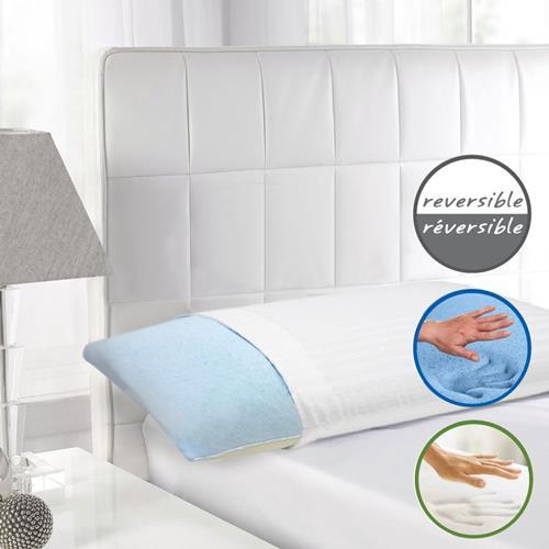 maison blanche oreiller gel mousse m moire d chiquet oreillers best buy canada. Black Bedroom Furniture Sets. Home Design Ideas