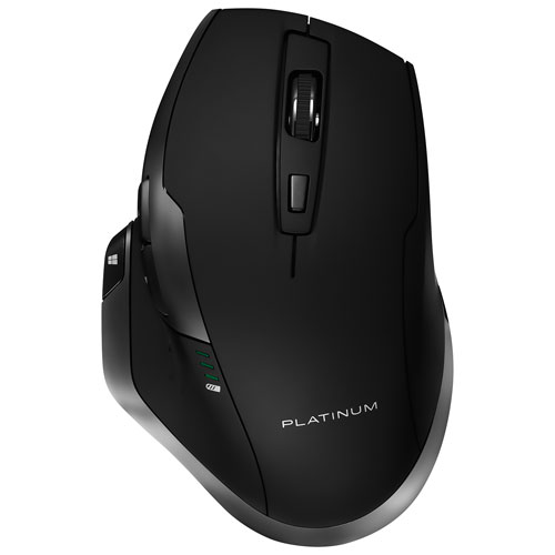 Platinum Wireless Laser Mouse - Black