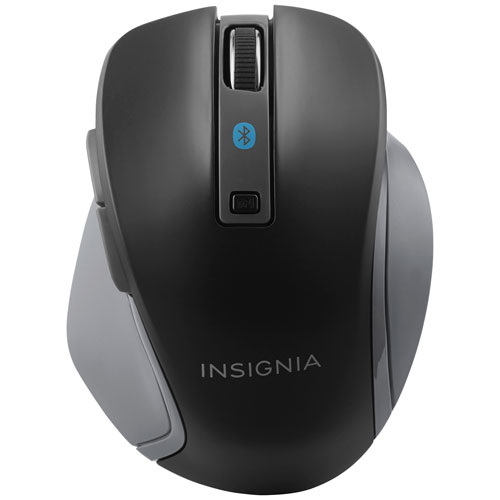 Insignia Bluetooth Blue Trace Mouse - Black