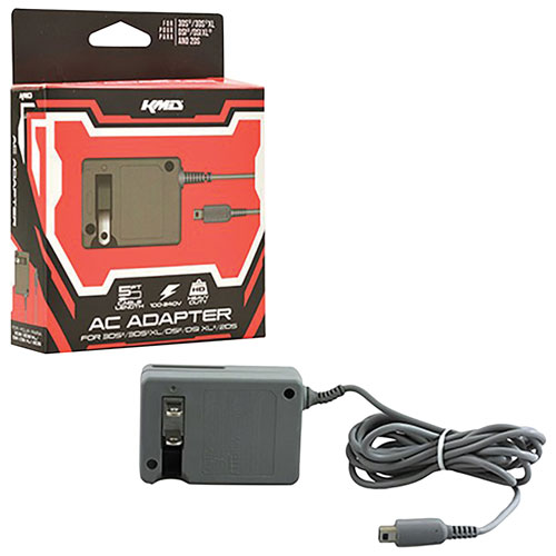 KMD AC Power Adapter for Nintendo DS - Grey