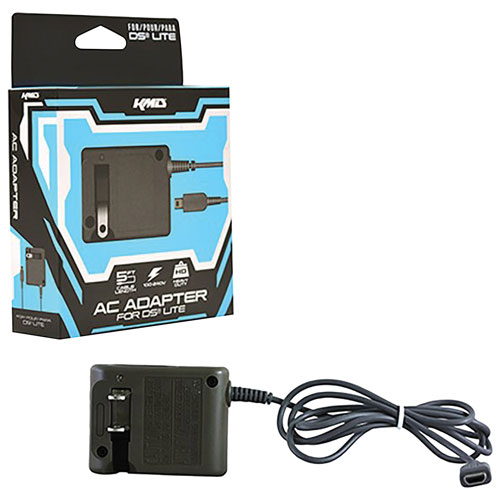 KMD AC Power Adapter for Nintendo DS Lite - Grey