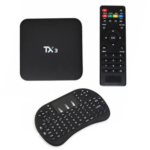 TX3 Android TV Box & i8 Wireless Keyboard set