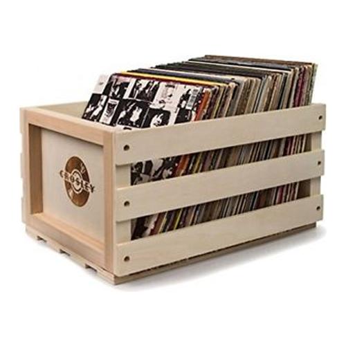 bo te de rangement pour vinyle bacs et articles de. Black Bedroom Furniture Sets. Home Design Ideas