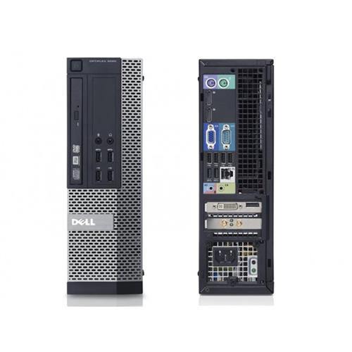 DELL OPTIPLEX 9010 SFF I5 3570 3.4 GHZ DDR3 4.0 GB 2TB DVD/RW WIN 10 HOME 3YR - REFURBISHED
