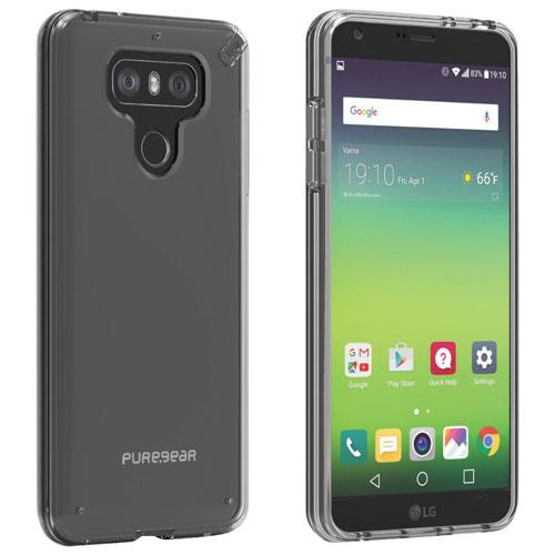 Étui souple ajusté Slim Pro de PureGear pour G6 de LG - Transparent