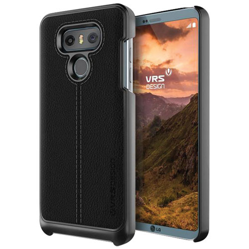 VRS Design Simpli Mod Case for LG G6 - Black