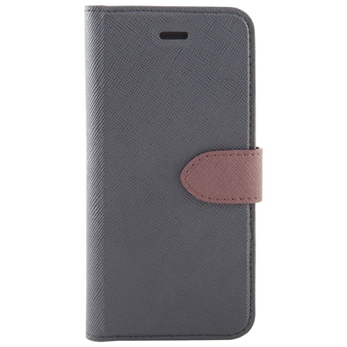 Blu Element 2-in-1 Folio Case for Galaxy A5 - Black/Brown