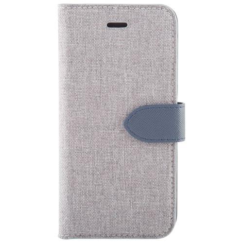 Blu Element 2-in-1 Folio Case for Galaxy A5 - Grey/Navy