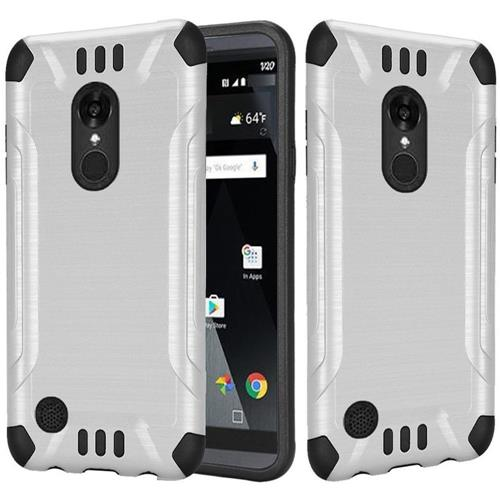 Insten Fitted Soft Shell Case for LG Aristo / LV3 - White