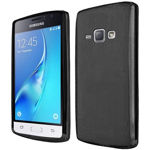 Insten Frosted TPU Case For Samsung Galaxy J1(2016), Black