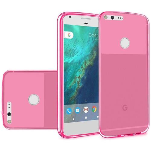 Insten Frosted TPU Case For Google Pixel XL, Hot Pink