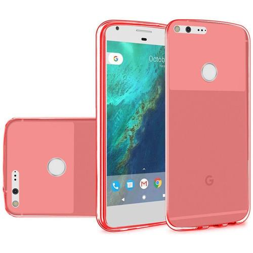 Insten Frosted TPU Cover Case For Google Pixel XL, Red