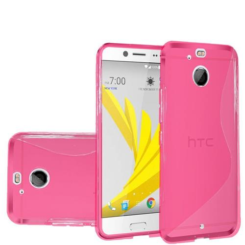 Insten Frosted TPU Case For HTC 10/Bolt, Hot Pink