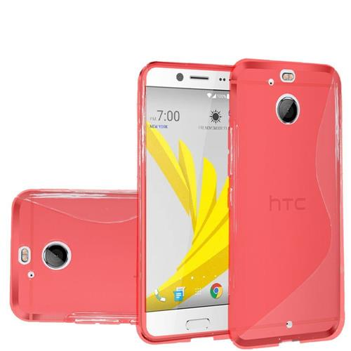 Insten Frosted Gel Case For HTC 10/Bolt, Red