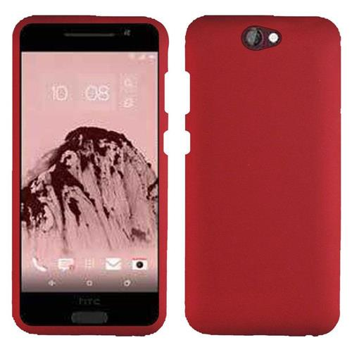 Insten Hard Rubber Cover Case For HTC One A9, Red