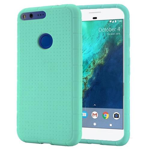 Insten Rugged Rubber Cover Case For Google Pixel, Teal
