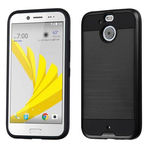 Insten Hard Dual Layer TPU Cover Case For HTC Bolt, Black
