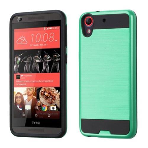 Insten Hard Hybrid Rubberized Silicone Case For HTC Desire 626/626s, Green/Black