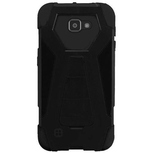 Insten Hard Hybrid Plastic Silicone Case w/stand For LG K4/Optimus Zone 3/Spree, Black
