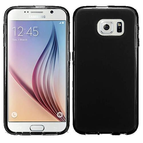 Insten Frosted Gel Cover Case For Samsung Galaxy S6, Black