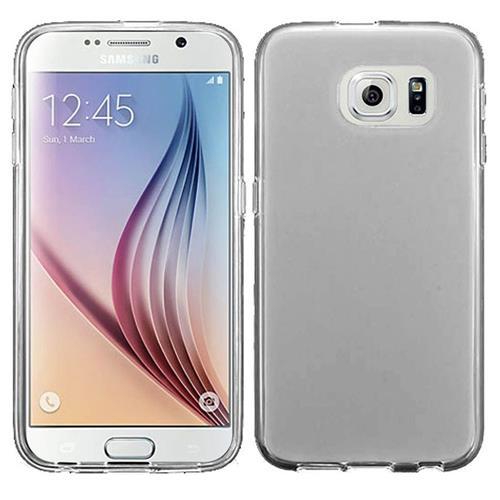 Insten Frosted TPU Case For Samsung Galaxy S6, Clear