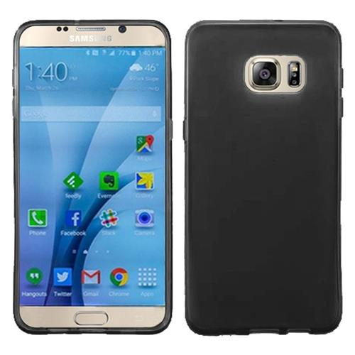 Insten Frosted Rubber Case For Samsung Galaxy S7, Black