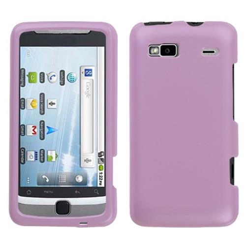 Insten Hard Clear Crystal Cover Case For HTC Desire Z Hero GSM / T-mobile G2 Touch, Purple