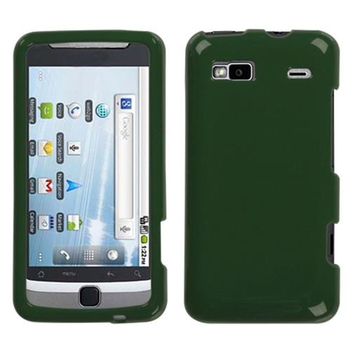 Insten Fitted Hard Shell Case for HTC Desire Z / Hero GSM / T-mobile G2 Touch - Green