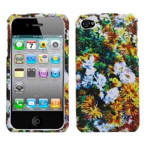 Insten Beautiful Blossoms Hard Cover Case For Apple iPhone 4/4S