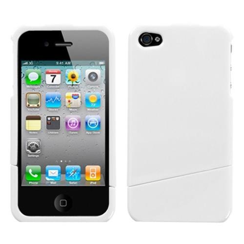 Insten Hard Case For Apple iPhone 4/4S, White