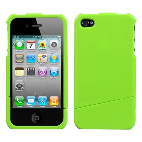 Insten Fitted Hard Shell Case for iPhone 4 / 4S - Green
