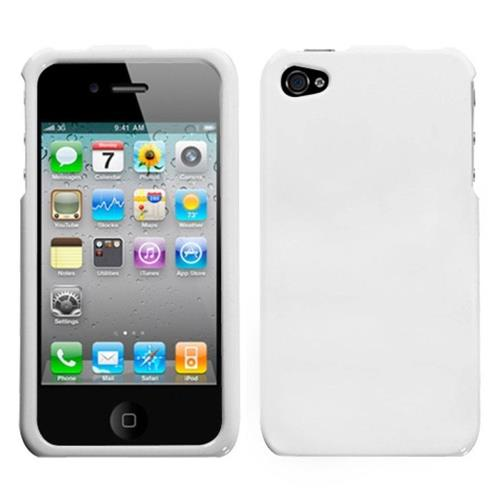 Insten Hard Case For Apple iPhone 4/4S, White