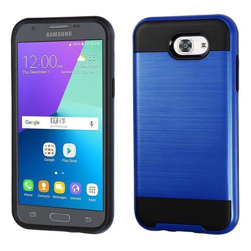 Insten Hard Hybrid TPU Case For Samsung Galaxy J3(2017), Blue/Black