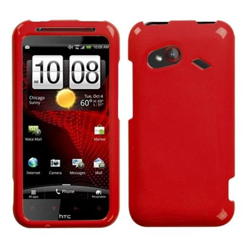 Insten Hard Cover Case For HTC Droid Incredible (LTE version), Red
