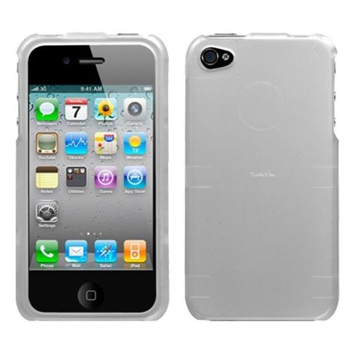 Insten Hard Case For Apple iPhone 4/4S, Silver