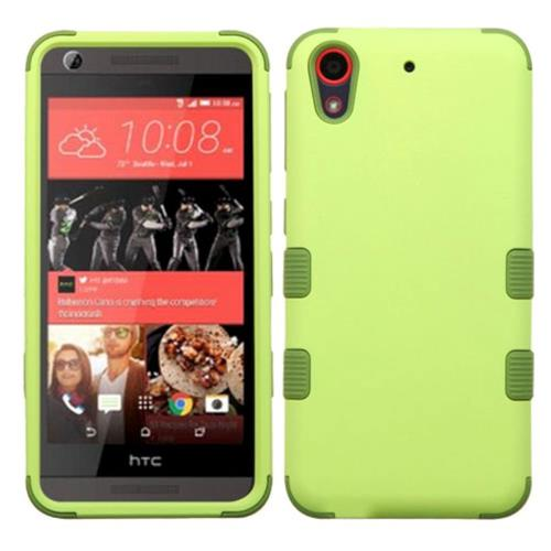 Insten Tuff Hard Hybrid Rubberized Silicone Case For HTC Desire 626/626s, Green