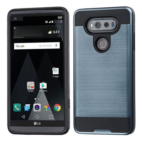 Insten Hard Hybrid TPU Case For LG V20, Blue/Black